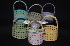 Basket weaving for Easter